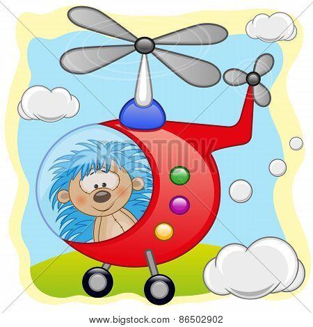 Hedgehog In Helicopter