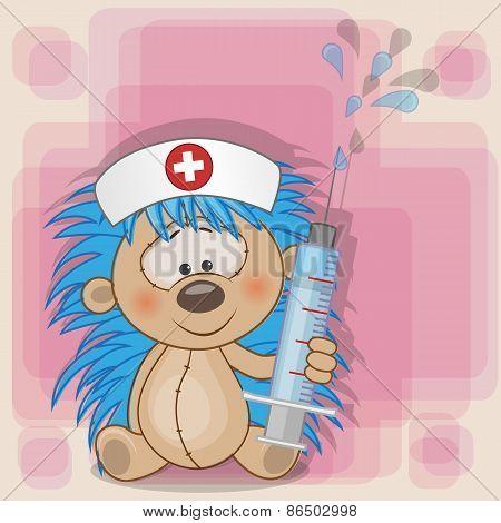 Hedgehog Nurse