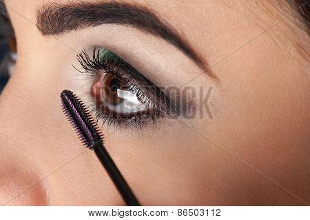 eyelash brush makeup