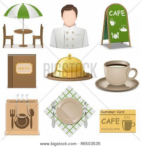 Vector Cafe Icons