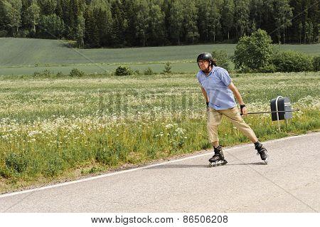 Senior Nordic Inline Skating
