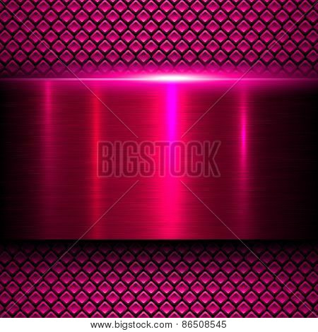 Abstract background vector metal texture.