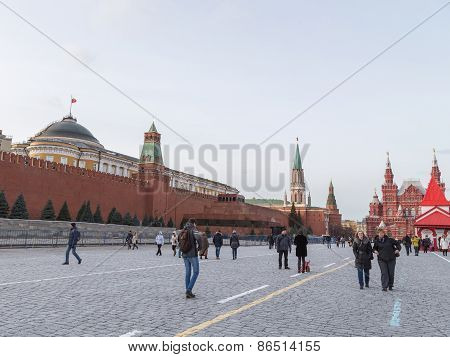 Christmas Vacation On The Red Square