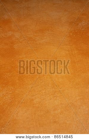 Soft Orange Walls Is Used For Background