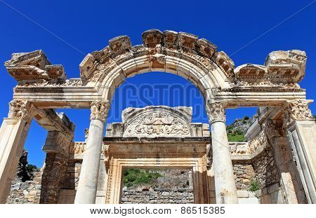 Hadrian's Temple, Ephesus, Izmir, Turkey