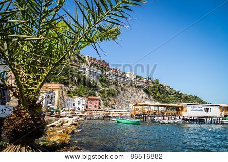 Sorrento coast, Italy - July 13
