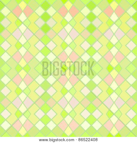 Green and yellow seamless geometric vector wallpaper pattern.