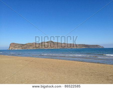Island Thodorou Crete Greece Agia Marina