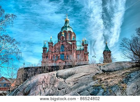 Helsinki. Finland. The Uspenski Cathedral