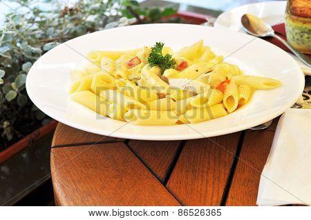 Fresh And Tasty Macaroni