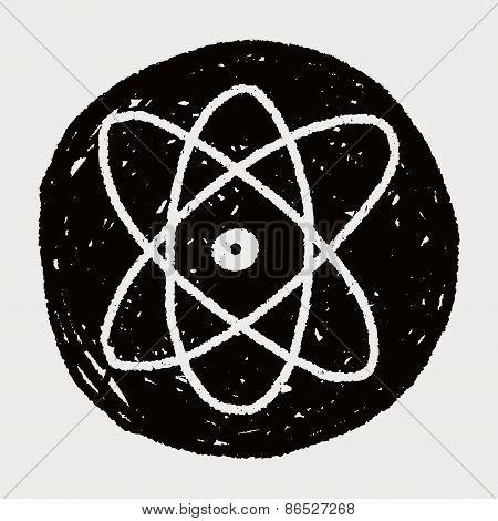 Doodle Atom Icon