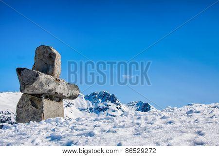 Inukshuk Rock, Whisler,Canada