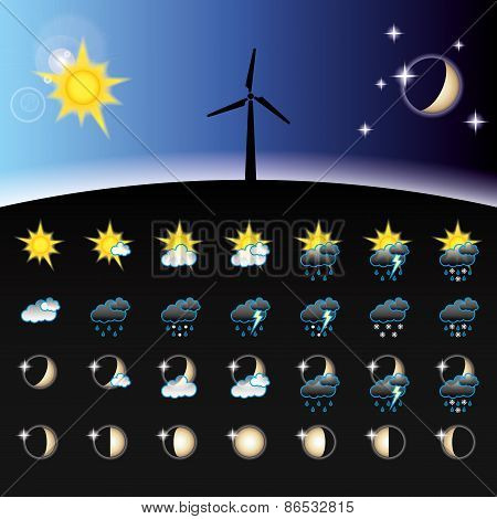 Weather icons collections