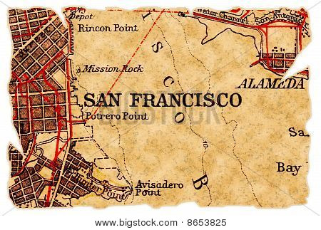 San Francisco Old Map