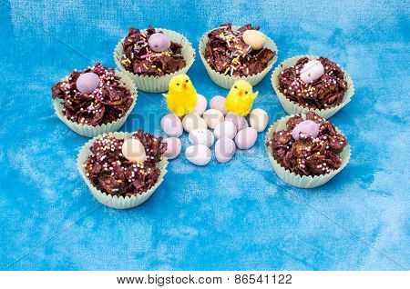 Circle Collection Of Easter Treats - Horizontal
