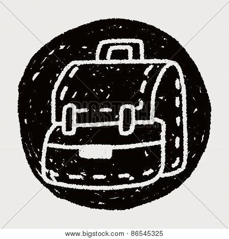 Doodle School Bag