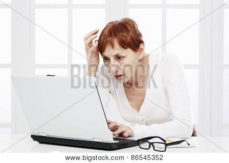 Sixty years woman and working problems