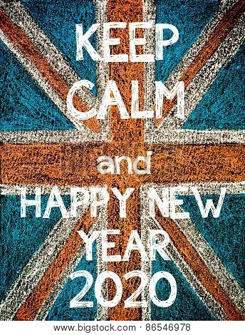 Keep Calm and Happy New Year 2020.