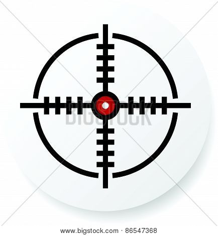 Reticle, Cross-hair Icon