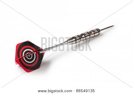 dart arrow on a white background