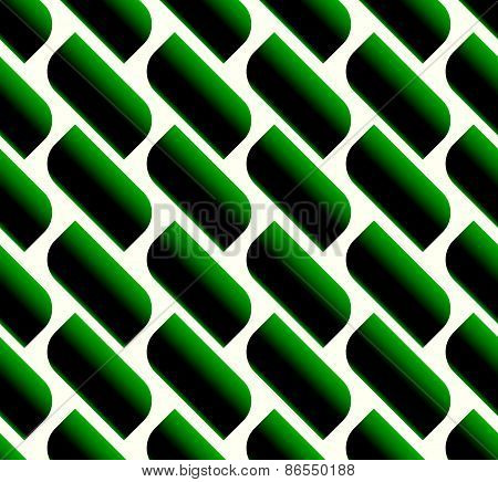 Seamless Pattern With Simple Slanting Shapes