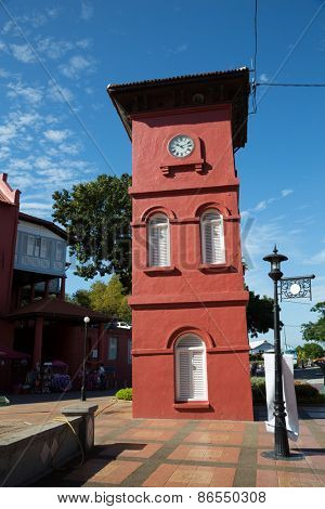 Red Clock Tower is an important landmark of Malacca. It was erected in 1886.
