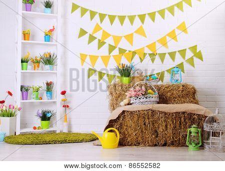 Festive Colorful Interior
