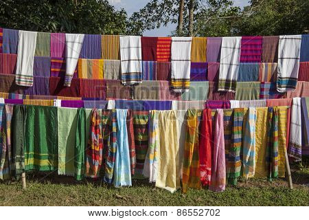 Ethiopian Scarfs And Textiles
