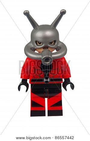 Ant Man Custom Lego Minifigure