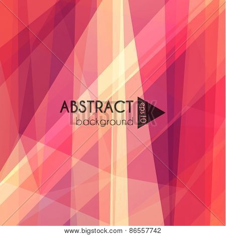 Abstract polygonal background - eps10