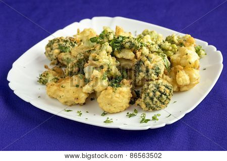 Broccoli,fried In Batter.