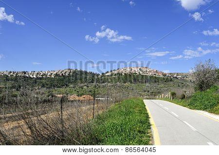 Jerusalem Suburb Rural Landscape.