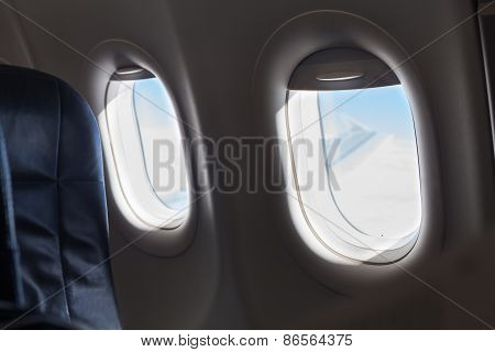 Windows Inside An Aircraft