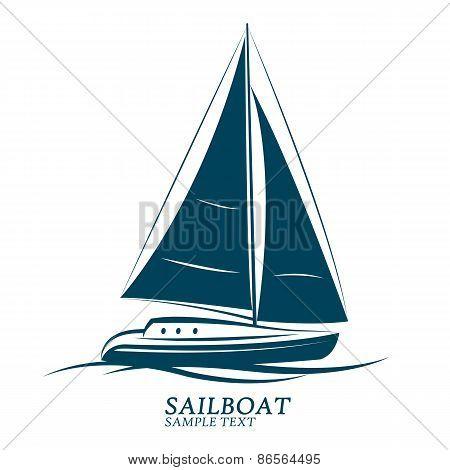 Sailboats Vector