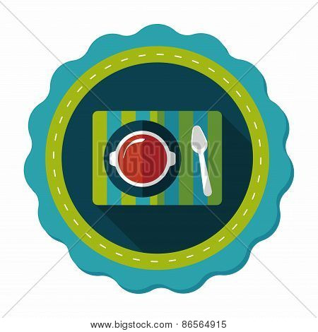 Tableware Flat Icon