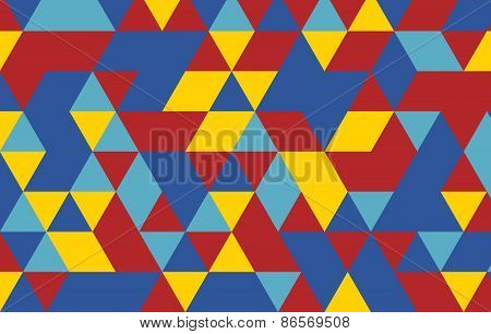 triangle pattern. Vector background. Geometric abstract.