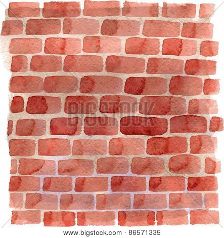 background with red bricks