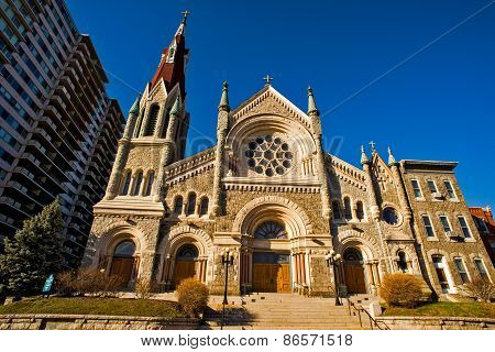 St. Francis Xavier Church,Philadelphia,Pennsylvania,USA