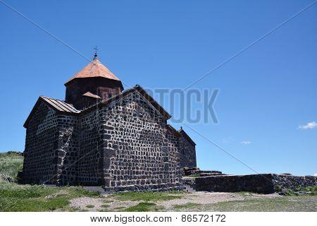 Church Of Sevanavank, On Sevan Lake