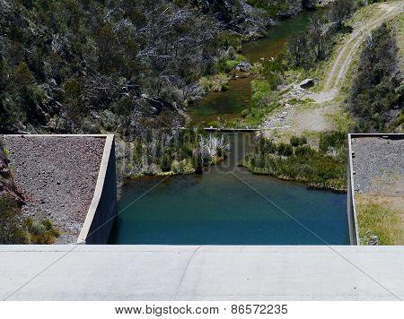 Tooma Dam in Australia