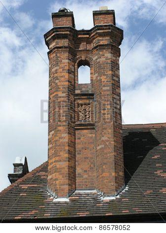 Large Brickwork Chimney Stack