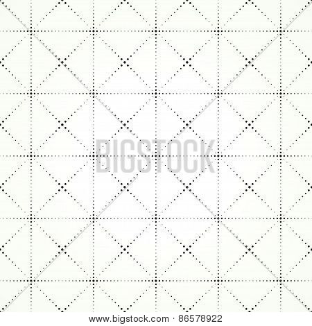 squares and rhombuses on a light background