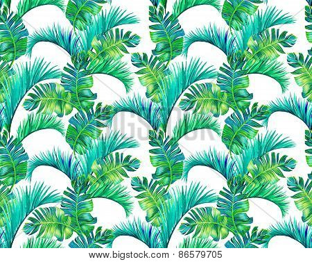 Palm Pattern, Seamless