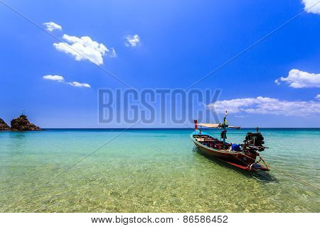 Local Traditional Boat In Thailand