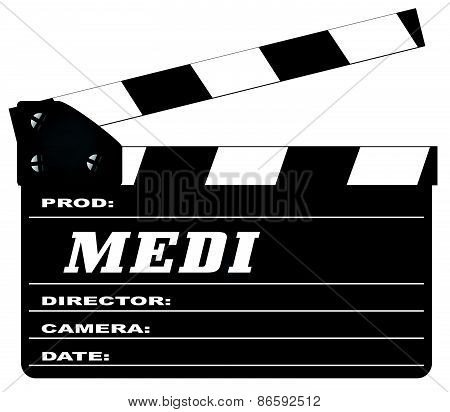 Police Clapperboard