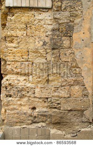 stone wall limestone
