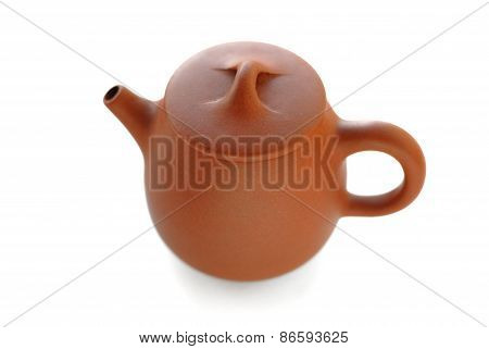 Yixing Red Clay Teapot