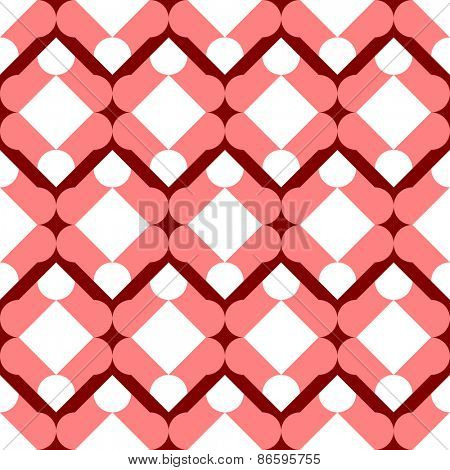 Seamless Grid Pattern. Vector Regular Texture