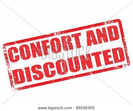 Confort And Discounted Stamp