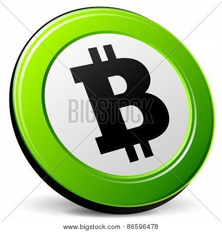 Bitcoin 3D Icon